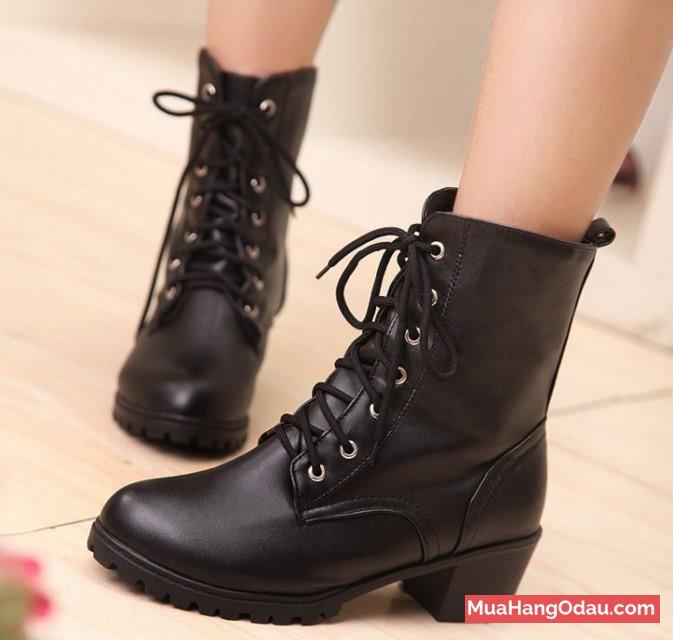 Giày chiến binh cao cổ dạng boost cá tính