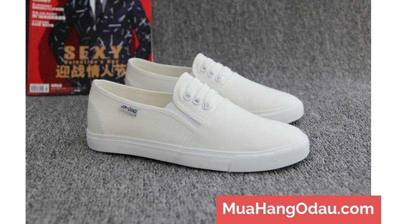Giày lười vải nam kiểu dáng Basic 2