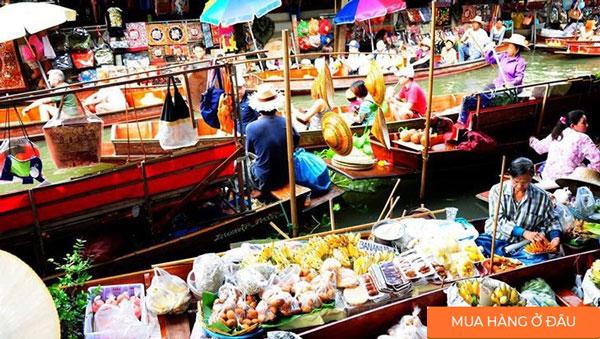 Chợ-nổi-Damnoen-Saduak