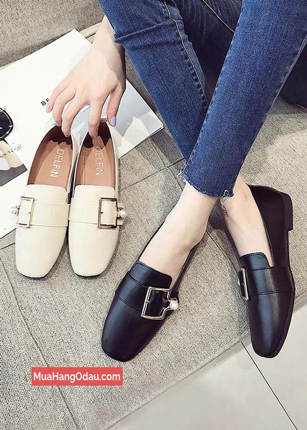 Giày-búp-bê-đế-bệt-dáng-Hàn-Quốc