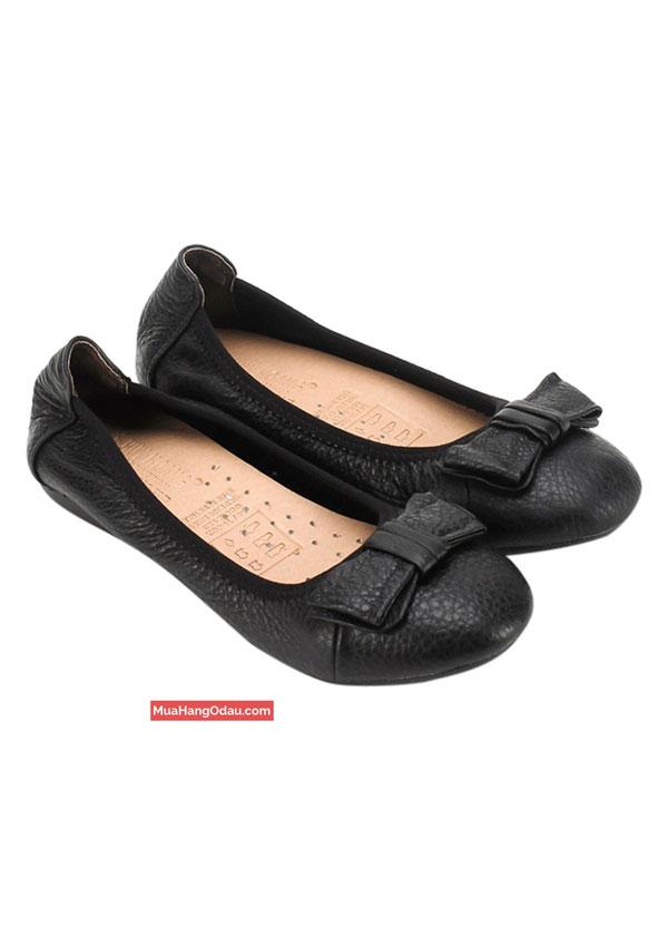 Giày-nữ-búp-bê-đế-bệt-da-bò-Huy-Hoàng