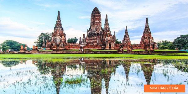 Kinh-đô-cổ-Ayutthaya