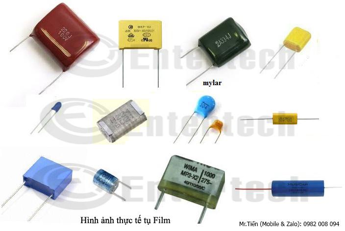 phân loại tụ điện