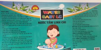 Nuoc Tam Linh Chi Water Baby Lc