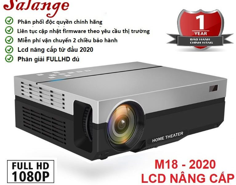 may chieu LED Salange M18-2020